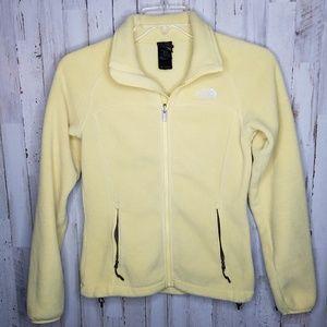 The North Face Polartec Fleece Jacket Yellow